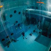 Y 40 la più profonda piscina