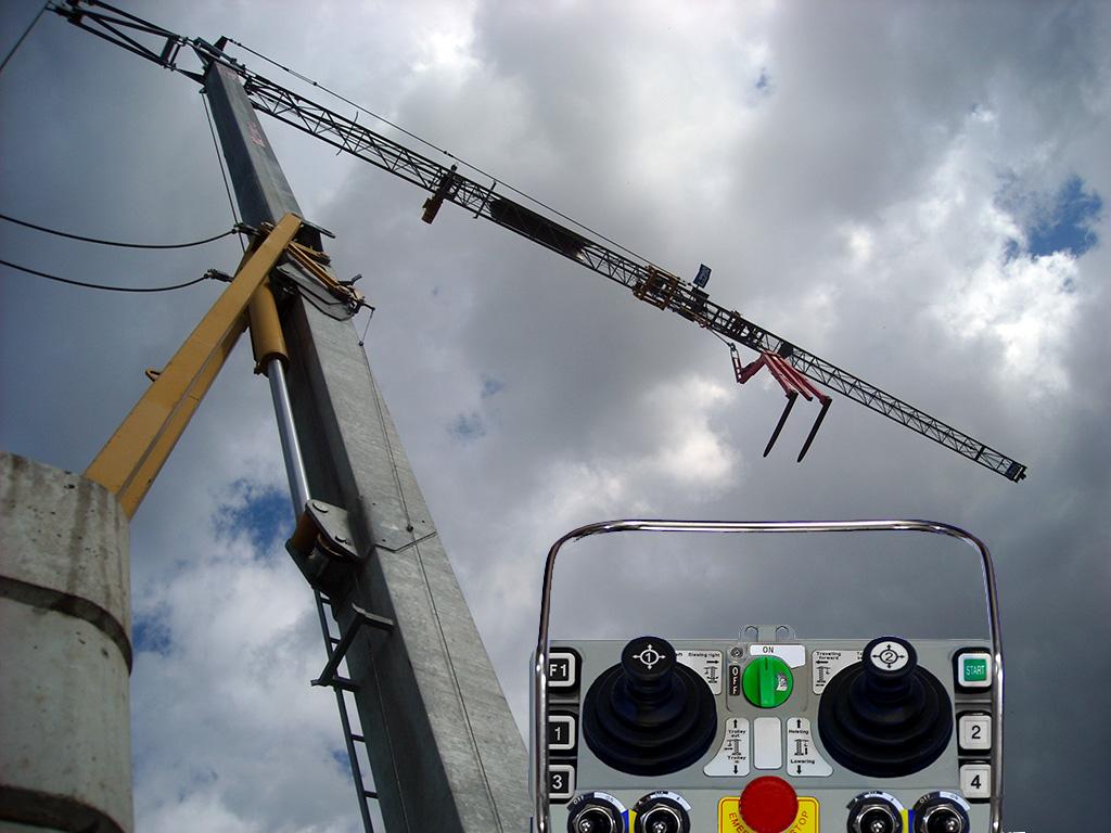 construction crane remote control